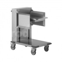 Chariot inox niveau constant guide lateraux