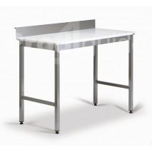 Table inox découpe polyéthylène dosseret