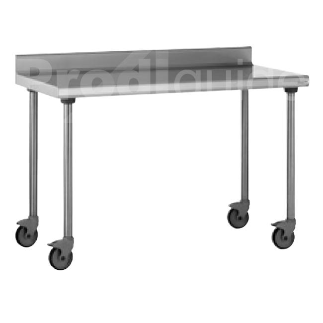 table mobile inox dosseret prodiguide. Black Bedroom Furniture Sets. Home Design Ideas