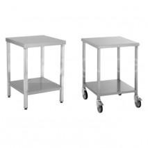 Table inox porte-machine