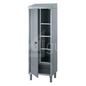 armoire inox pour produits d entretien et balais prodiguide. Black Bedroom Furniture Sets. Home Design Ideas