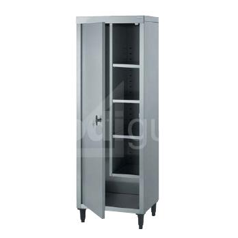 armoire inox chr pour produits d entretien prodiguide. Black Bedroom Furniture Sets. Home Design Ideas