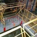 Barriere ecluse entre deux étages