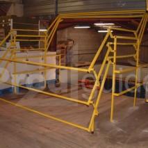 Barriere écluse pour plafond bas