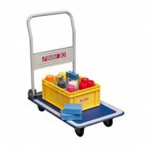 Chariot à dossier rabattable 150kg