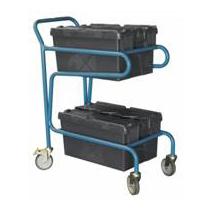 Chariot pour bacs plastiques 100kg