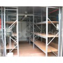 Aménagement intérieur de conteneur maritime