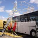 Echelle mobile securité camion autobus