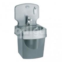 Lave-mains inox monobloc