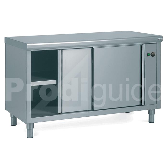 Armoire basse cuisine inox chauffante prodiguide for Table armoire inox