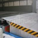 Niveleur de quai hydraulique en aluminium