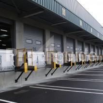 Passerelle de chargement aluminium rail guidage