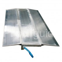 Plaque de chargement aluminium nervuré et alveolé