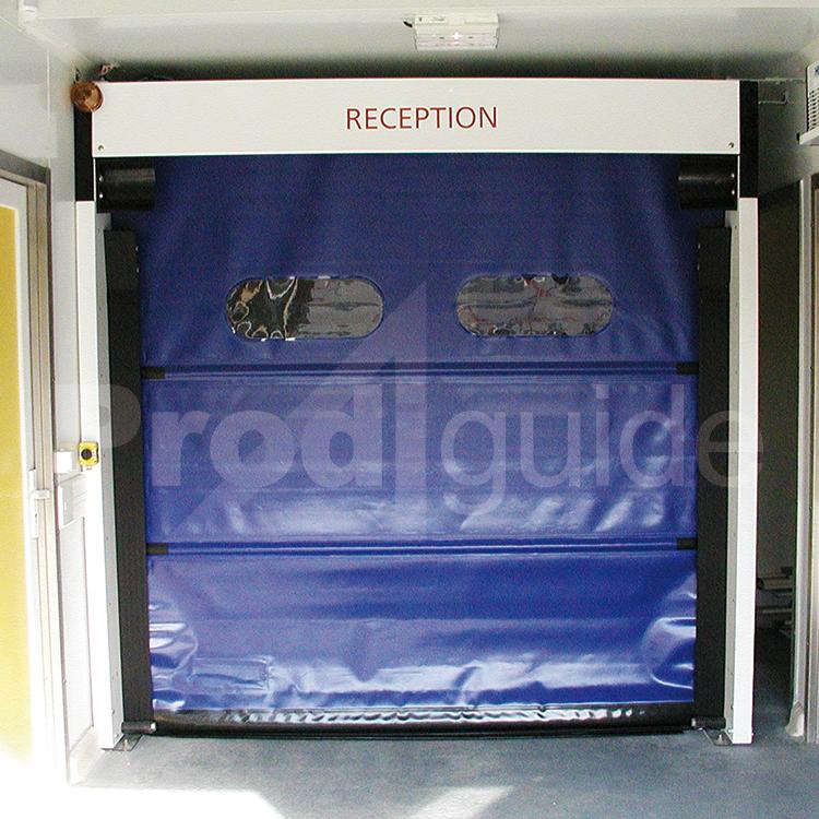 Porte rapide enroulement prodiguide for Porte a enroulement