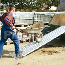 Rampe chargement aluminium-autoportante amovible