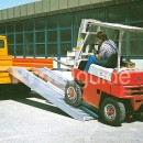 Rampe de chargement chariot élevateur
