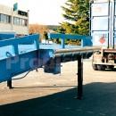 Rampe mobile de chargement à bords rabattables