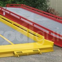 Rampes mobiles chargement de charges lourdes (6 tonnes)