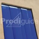 rideau separation pvc opaque