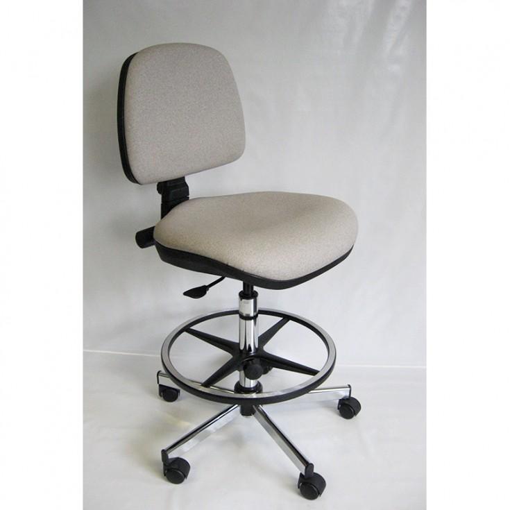 Siège labo assise confort avec revêtement anti-bactérien
