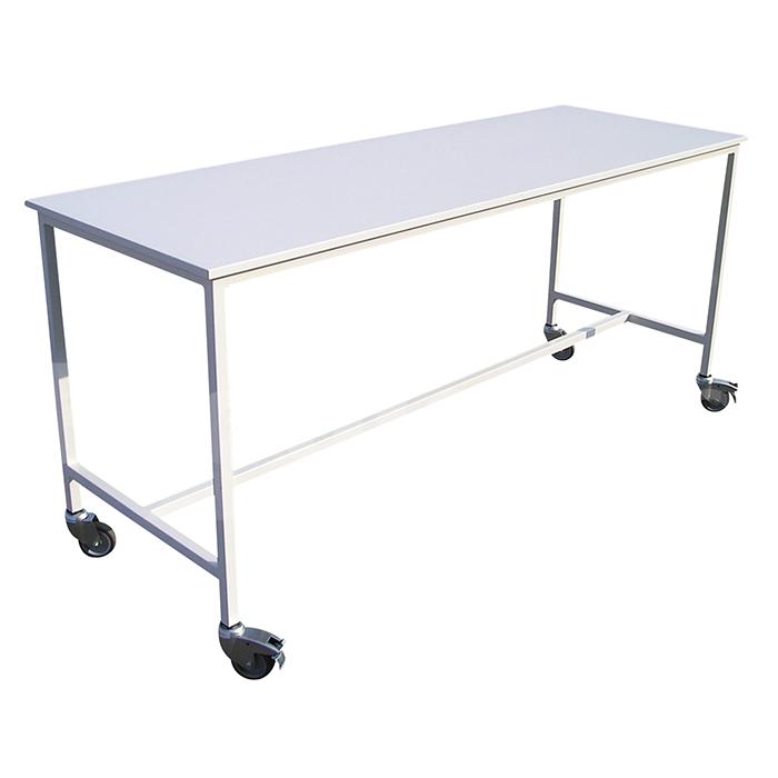 Table Inox Professionnel Sur Roulette Equipements Et Le Materiel