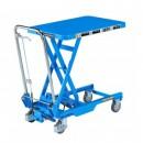 table élevatrice manuelle repliable