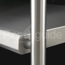 Table inox ergonomique